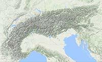 Kaart alps