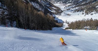 Rustige skigebieden