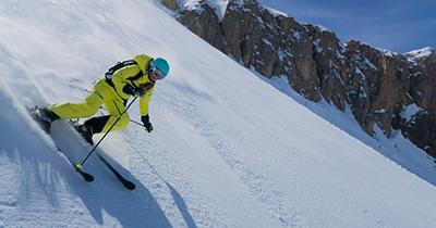 Skigebieden voor gevorderden