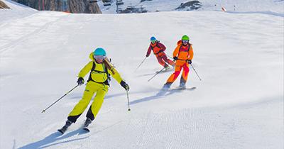 Skigebieden voor tochten