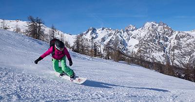 Snowboardvriendelijke skigebieden